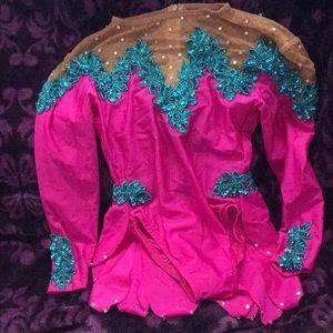Dance leotard sequin